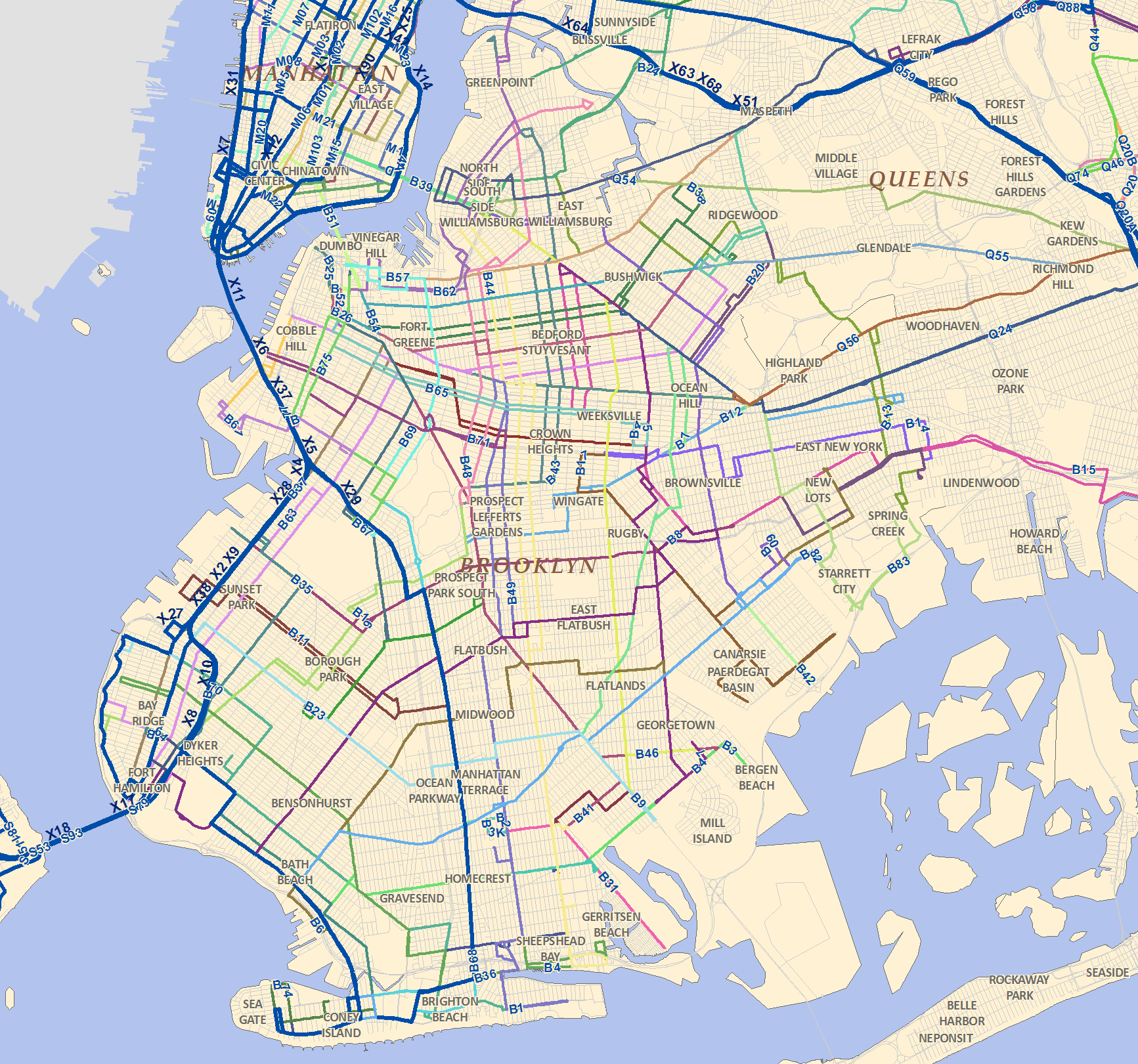 MTA data opened up provided here in GIS format Spatiality