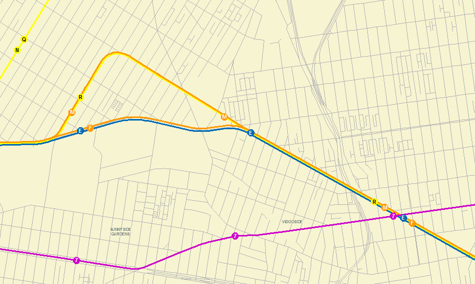 MTA subway data in GIS format   Spatiality