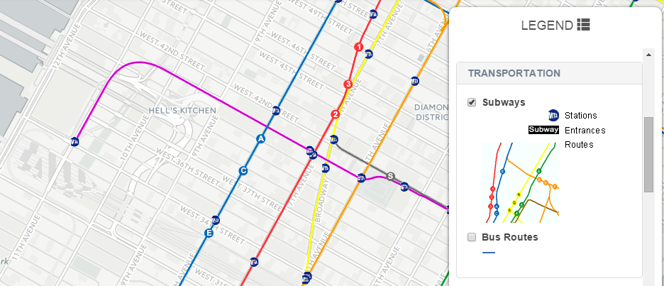 Nyc Subway Map 7 Train Extension.Transit Spatiality